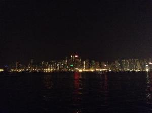 The view of Hong Kong Island from TST Promenade!